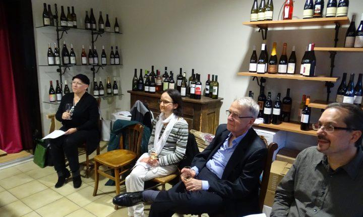 French wine in Strasbourg